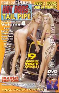 Hot Bods & Tail Pipe Volume 4 Cover