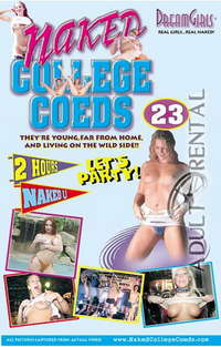 Naked College Coeds 23 Cover