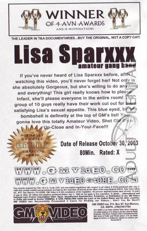 Lisa Sparxxx Amateur Gang Bang Porn Video Art
