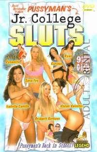 Pussyman's Jr. College Sluts Cover