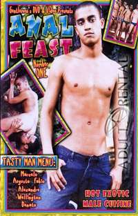 Anal Feast #1 Cover