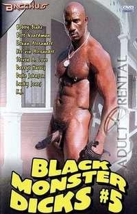 Black Monster Dicks #5