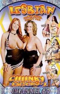 Lesbian Chunky Chicks 2 Cover