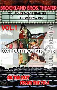 XXX Adult Movie Trailers 1970-1980 Vol.1 Cover
