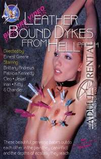 Leather Bound Dykes From Hell 14 Cover