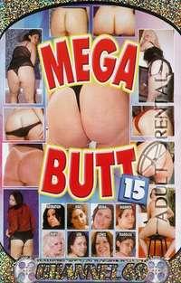 Mega Butt 15 Cover