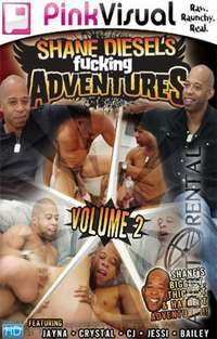 Shane Diesel's Fucking Adventures 2 Cover