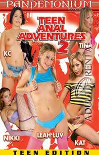 Teen Anal Adventures 2 Cover