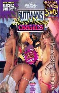 Buttman's Award Winning Orgies Cover