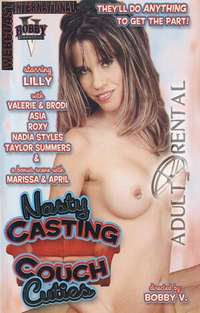 Nasty Casting Couch Cuties Cover