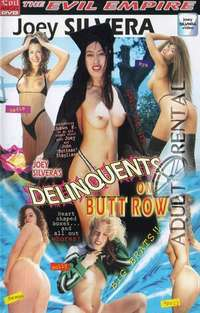 Delinquents On Butt Row Cover