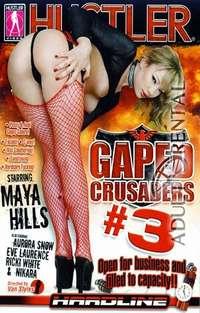 Gaped Crusaders #3 Cover