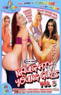 Naughty Young Girls 3 Cover