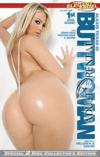Alexis Texas Is Buttwoman: Disc 2 Cover