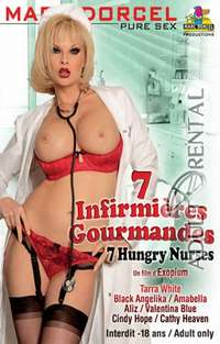7 Sex Starved Nurses Cover
