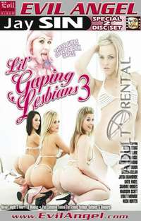 Lil' Gaping Lesbians #3 - Disc #2 Cover