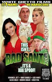 This Isn't Bad Santa It's A XXX Spoof Cover