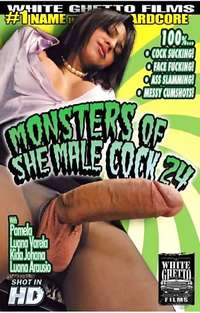 Monsters Of Shemale Cock 24 Cover