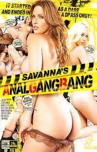 Savanna's Anal Gangbang  Cover