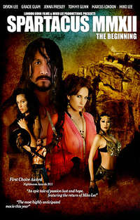 Spartacus MMXII :The Beginning - Disc #1 Cover