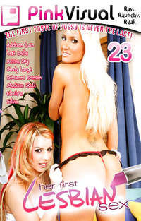 Her First Lesbian Sex #23 Cover
