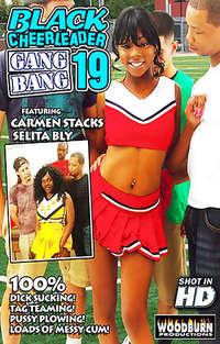 Black Cheerleader Gang Bang #19 Cover