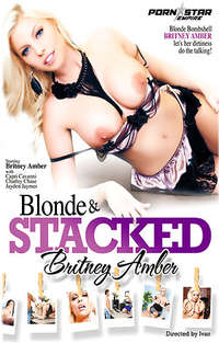 Blonde and Stacked Britney Amber  Cover