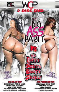 Big Ass Party Vs Da Dirty South Booty Shake! - Disc #1 Cover