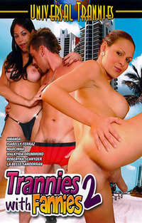 Trannies With Fannies #2 Cover