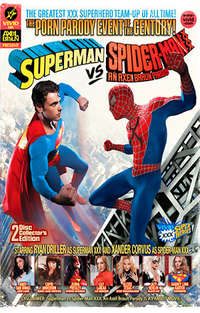 Superman Vs Spider-Man XXX: An Axel Braun Parody - Disc #2 (Bonus) Cover