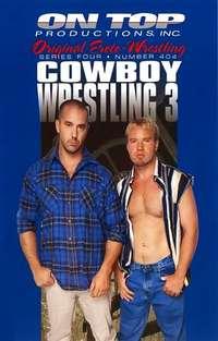 Cowboy Wrestling #3 Cover