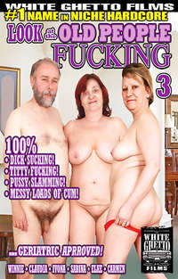 Look At The Old People Fucking #3  Cover