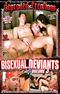 Bisexual Deviants #3 Cover