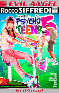 Rocco's Psycho Teens #5  Cover