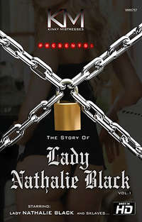 The Story Of Lady Nathalie Black  Cover