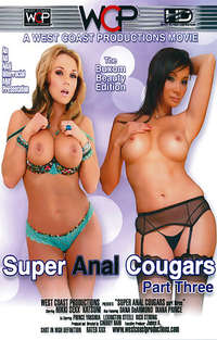 Super Anal Cougars #3 Cover