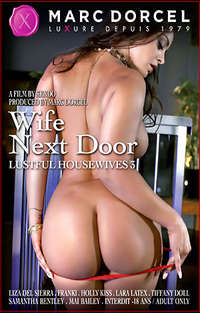 Lustful Housewives #3 - Wife Next Door  Cover
