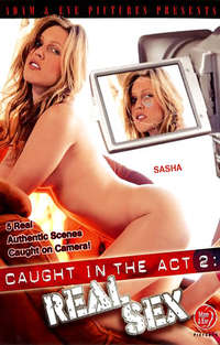Caught in the Act #2 - Real Sex  Cover