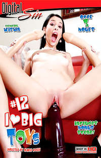 I Love Big Toys #12  Cover