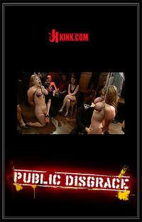 Public Disgrace -  Sierra Skye, Cassandra Calogera & James Deen Cover