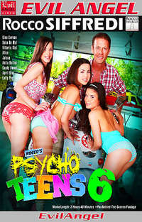 Rocco's Psycho Teens #6 Cover
