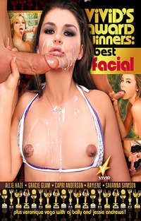 Vivid's Award Winners - Best Facial Cover