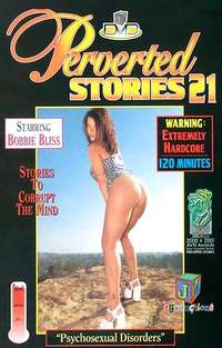 Perverted Stories #21 Cover