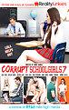 Corrupt Schoolgirls #7 Cover