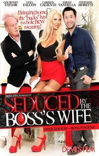 Seduced By The Boss's Wife Cover