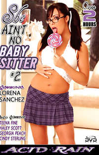 She Ain't No Babysitter #2 Cover