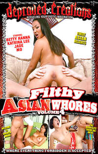 Filthy Asian Whores #4 Cover