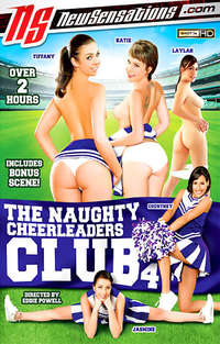 The Naughty Cheerleaders Club #4 Cover