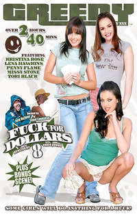 Fuck For Dollars #8  Cover