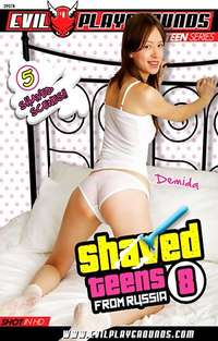 Shaved Teens From Russia #8  Cover